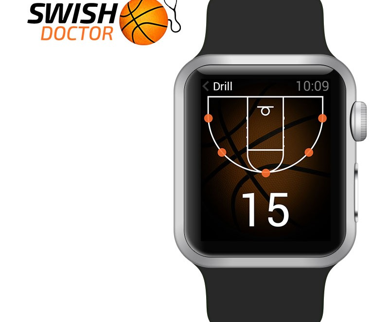 Swish Doctor Apple Watch App Design